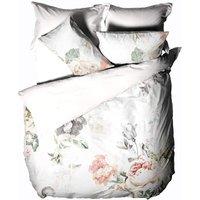Sansa Duvet Cover Set (King) (Multicoloured) - Linen House