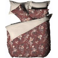 Taira Duvet Cover Set (King) (Multicoloured) - Linen House
