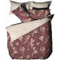 Linen House Taira Duvet Cover Set (Double) (Multicoloured)