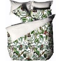 Wonderplant Duvet Cover Set (King) (Multicoloured) - Linen House