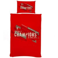 Champions Of Europe Duvet Set (Single) (Red) - Liverpool Fc