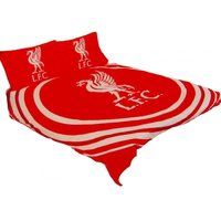 Pulse Double Duvet Set (One Size) (Red) - Liverpool Fc