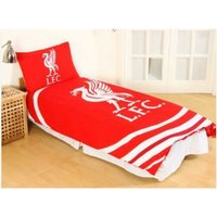 Pulse Single Duvet Set (One Size) (Red/White) - Liverpool Fc