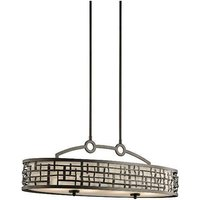 Elstead Lighting - Elstead - 4 Light Pendant Bar Island Chandelier Light Olde Bronze, E27