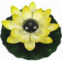 Betterlifegb - Lotus Light, Solar Floating Lotus Flower Light Basin Decoration Changing Flower Color Night Light Lamp for Pool Party Garden House