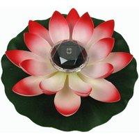 Betterlifegb - Lotus Light, Solar Floating Lotus Flower Light Floating Basin Decoration Changing Flower Color Night Light Lamp for Pool Party Garden