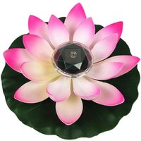 Betterlifegb - Lotus Light, Solar Floating Lotus LED Floating Basin Decoration Changing Flower Color Night Light Light for Pool Party Garden House