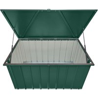 Lotus Metal Cushion Storage Box 5x3 - Green