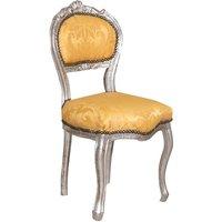 Wooden chair for dining table restaurant pizzeria kitchen farmhouses arte povera antique silver L45xPR42xH90 Cm - BISCOTTINI