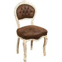 Chair Wooden armchair for dining table restaurant restaurant pizzeria kitchen farmhouses arte povera Antique silver L45xPR42xH90 - BISCOTTINI