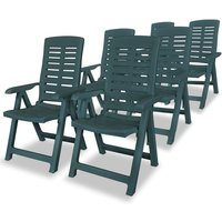Louvenia Reclining Garden Chair by Dakota Fields - Green
