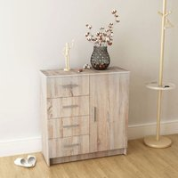 Lucretia 4 Drawer Combi Chest by Bloomsbury Market - Brown