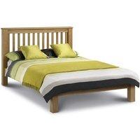 4ft6 Double 135 x 190 LIGHT OAK Low Foot End Bed Frame - Lulu