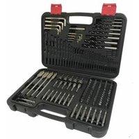 DBS150 150 pieceHSS Masonry wood screwdriver drill bit set - Lumberjack