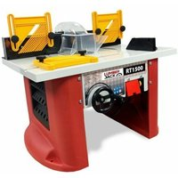 Lumberjack RT1500 1500w Bench Top Router Table With Integrated Router Built In