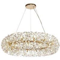 Ceiling Pendant 26 Light G9 French Gold, Crystal - Luminosa