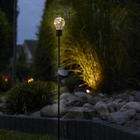 Solar LED Garden Stick Light Bottle 2 Pack - Luxform