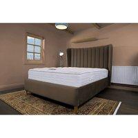Madeleine Brown Malia Double Bed Frame