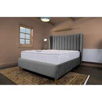 Madeleine Grey Malia Double Bed Frame