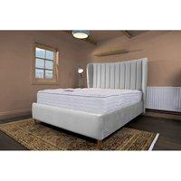 Madeleine Silver Malia Double Bed Frame