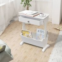 Magazine Rack Melrose White - YOUTHUP