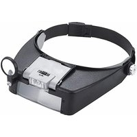 Magnifying Glass Headband Magnifying Glass Hands Free Head Magnifying Glasses Magnifying Glasses LED jewelry loupe for people who wear glasses,
