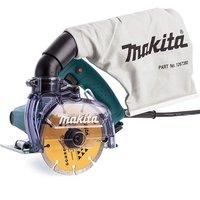 Makita 4100KB/1 110v 125mm Dustless Disc Cutter Diamond Wheel