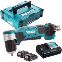 Makita DA333DZ 12V CXT Angle Drill with 2 x 2.0Ah Batteries and Charger in Case