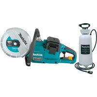 Makita DCE090ZX1 18v / 36v 9 Cordless Brushless Disc Cutter Saw Bare + Water
