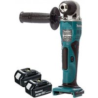 Makita DDA351 18v Li-Ion Cordless Angle Drill With 2 x 3Ah Batteries