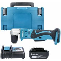 Makita DDA351 18V LXT 10mm Angle Drill With 1 x 6.0Ah Battery, Charger and Case