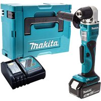 Makita DDA351Z 18V Angle Drill with 1 x 3.0Ah Battery and Charger in Case:18V