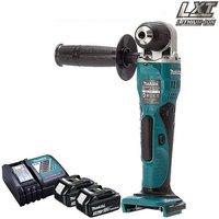 Makita DDA351Z 18v Li-Ion Angle Drill With 2 x 3Ah Batteries and Charger