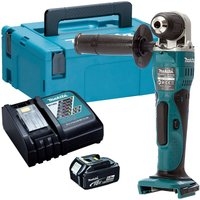 Makita DDA351Z 18V LXT Angle Drill with 1 x 5.0Ah Battery and Charger in Case