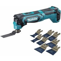 Makita TM30DZ 10.8V CXT Multi Tool Cutter with 8 Piece Accessories Set:18V