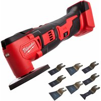 Milwaukee M18BMT-0 M18 18V Compact Multi Tool Cutter with 8 Piece Accessories Set