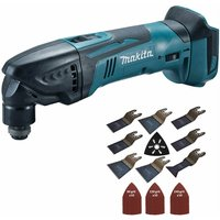 Makita DTM50Z 18V Oscillating Multi Tool Cutter with 39 Piece Accessories Set