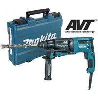 Makita HR2631F 110v SDS Plus Corded Rotary Hammer Drill 26mm AVT Low Vibration