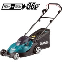Makita DLM431Z Twin 18v / 36v LXT Cordless 43cm Lawn Mower Soft Start - Bare