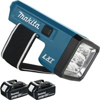 Makita DML186 18v Rechargeable Flashlight Torch with 2 x 3.0Ah Batteries:18V