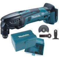 Makita DTM50Z 18v LXT Li-Ion Cordless Multi Tool Bare + 3pc Plunge Set + Box