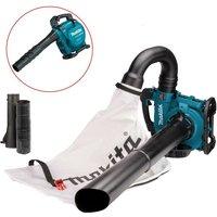 Makita DUB363ZV Twin LXT 18v / 36v Brushless Leaf Blower Mulcher Vacuum + Bag