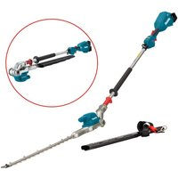 Makita DUN500WZ LXT 18v Li-Ion Brushless Pole Hedge Cutter Trimmer Long Reach