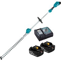 Makita DUN600LZ LXT 18v Li-Ion Brushless Pole Hedge Cutter Trimmer 2x5.0ah