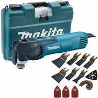 Makita TM3010CK 110V Multi-Tool Quick Change Blade with 39 Piece Accessories Set:110V