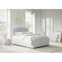 Manhattan Silver Malia Double Bed Frame