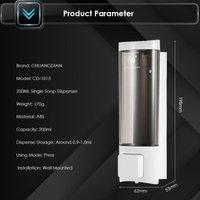 Chuangdian - Manual Hand Soap Dispenser 200ml, White