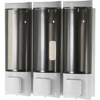 Manual Hand Soap Dispenser 200ml*3 White - CHUANGDIAN