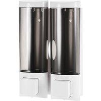 Manual Hand Soap Dispenser 200mlx2 White