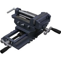 vidaXL Manually Operated Cross Slide Drill Press Vice 150 mm